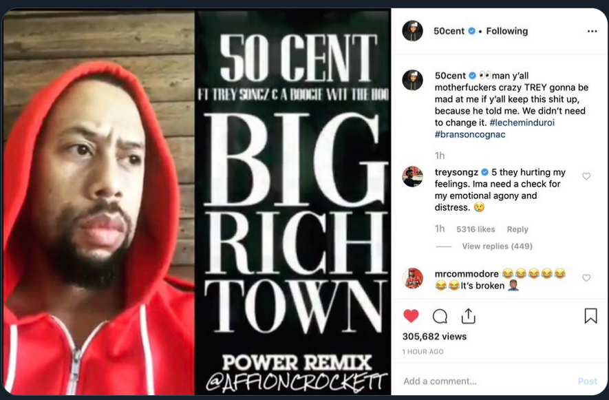 R&B Singer Joe Responds to 50 Cent Swapping Him Out Of The 'Power' Theme Song