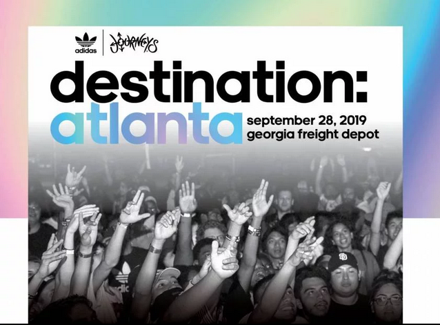 Kenny Burns to Host adidas x Journeys One-Day Festival in Atlanta Headlined by Kodie Shane & Marlo
