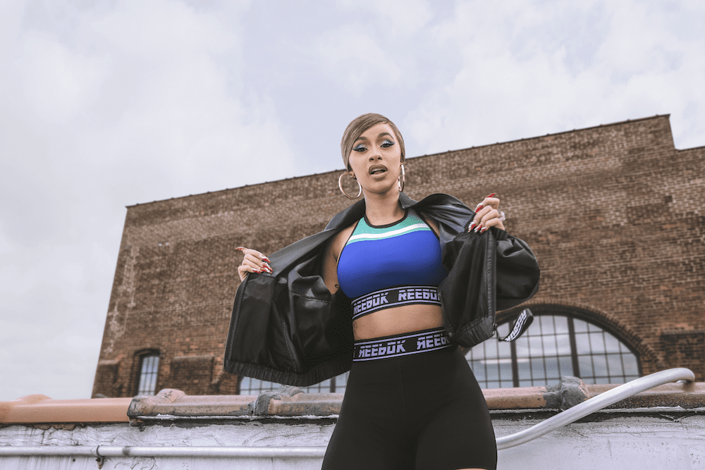 """Cardi B Is Now the Face of Reebok's """"Meet You There"""" Collection"""
