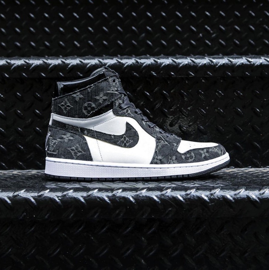 ce35be0afc0 Would You Rock These Louis Vuitton x AJ1 Custom Kicks by Ceeze?