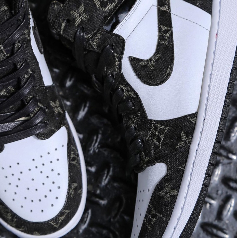 Would You Rock These Louis Vuitton x Air Jordan 1 Custom Kicks by Ceeze?