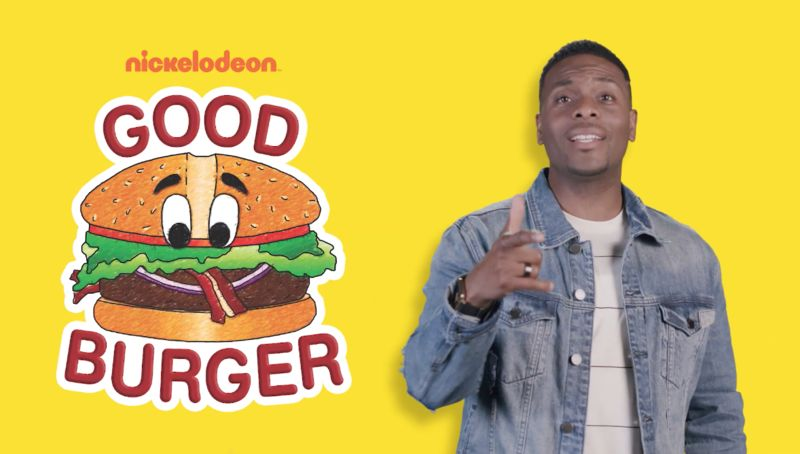 good burger popup