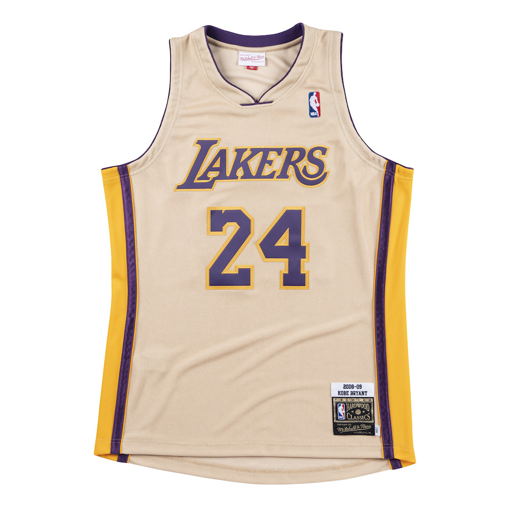classic fit a600f 90b2f Mitchell & Ness Drop a Gold 08–09 Lakers Jersey For 'Kobe ...