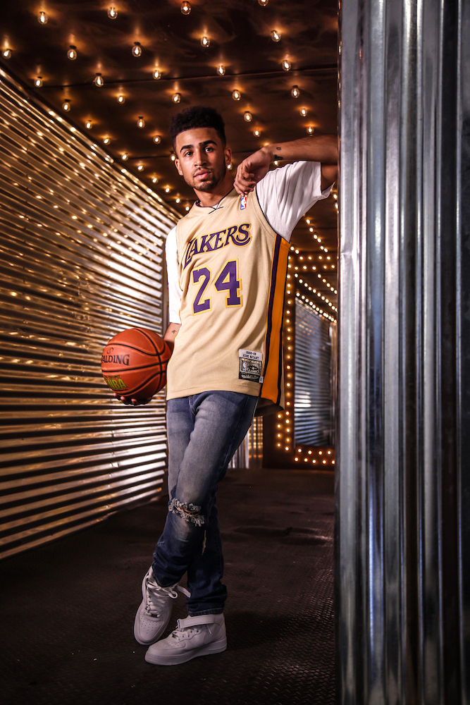 Mitchell & Ness Came Through For 'Kobe Bryant Day' With a Gold Version of His Lakers Jersey