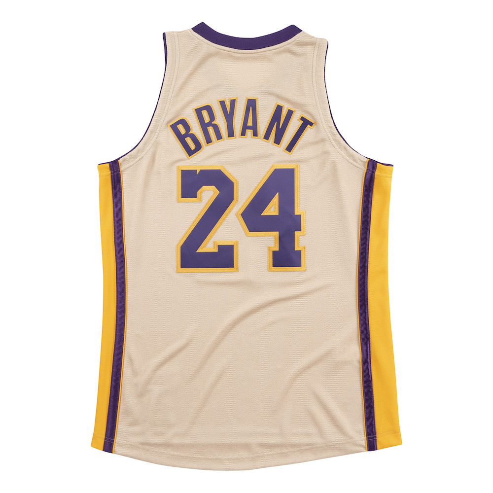 classic fit 9d367 a8a8f Mitchell & Ness Drop a Gold 08–09 Lakers Jersey For 'Kobe ...