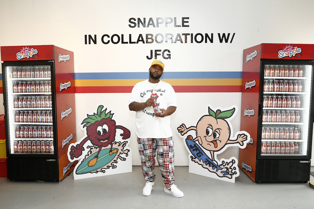 source exclusive interview joe freshgoods snapple collaboration