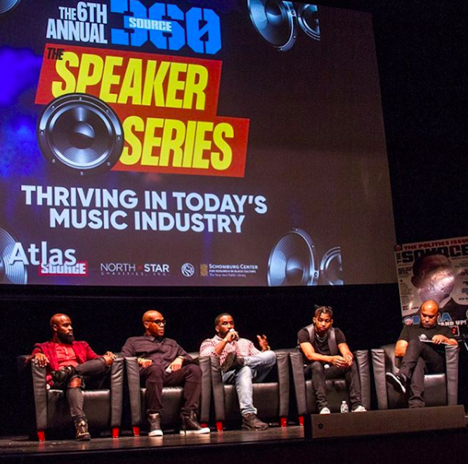 source recap thriving in todays music industry speaker series panel