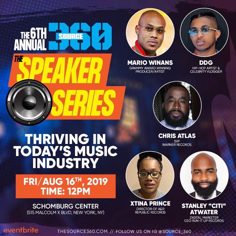 source thrive in music industry speaker series panel schomburg harlem
