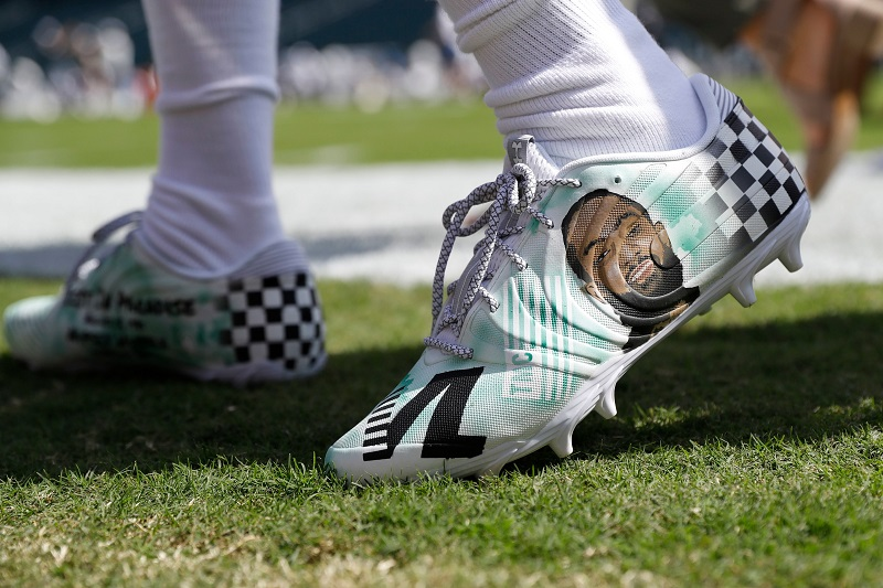 DeSean Jackson to Auction Custom Cleats That Honor Nipsey Hussle