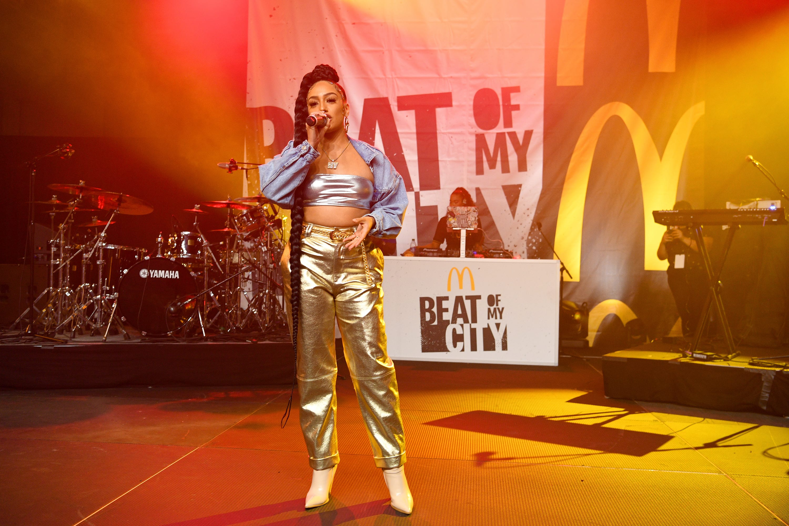 Teyana Taylor Performs for McDonald's Inaugural Beat of My City Concert