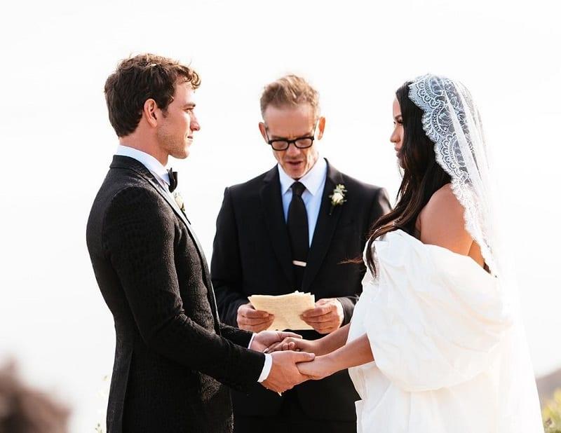 Pregnant Cassie Marries Alex Fine in Malibu! | Alex Fine, Cassie, Pregnant, Wedding