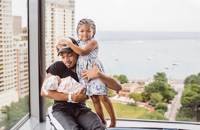 DJ MK - CHANCE THE RAPPER POSTPONES FESTIVAL TO WELCOME NEW BABY!