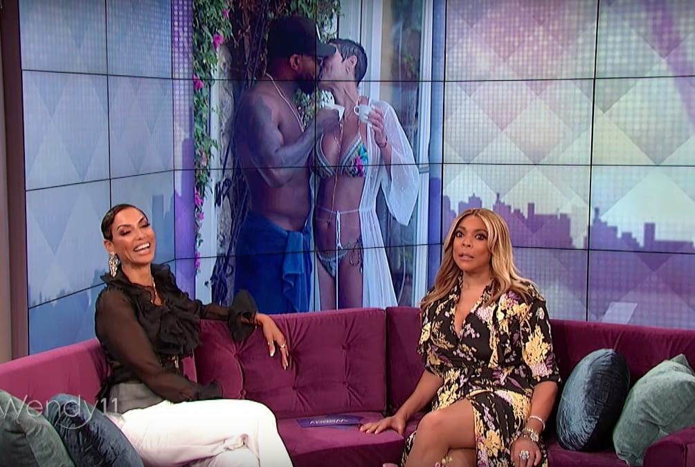 Nicole Murphy Speaks Candidly About Kiss With Antoine Fuqua on Wendy Williams Show
