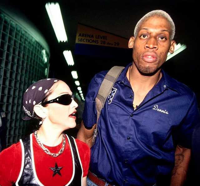 Dennis Rodman Claims Madonna Offered Him $20M to Get her Pregnant