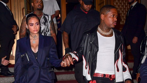Kehlani & YG Confirm They're Dating by Holding Hands at NYFW Event!