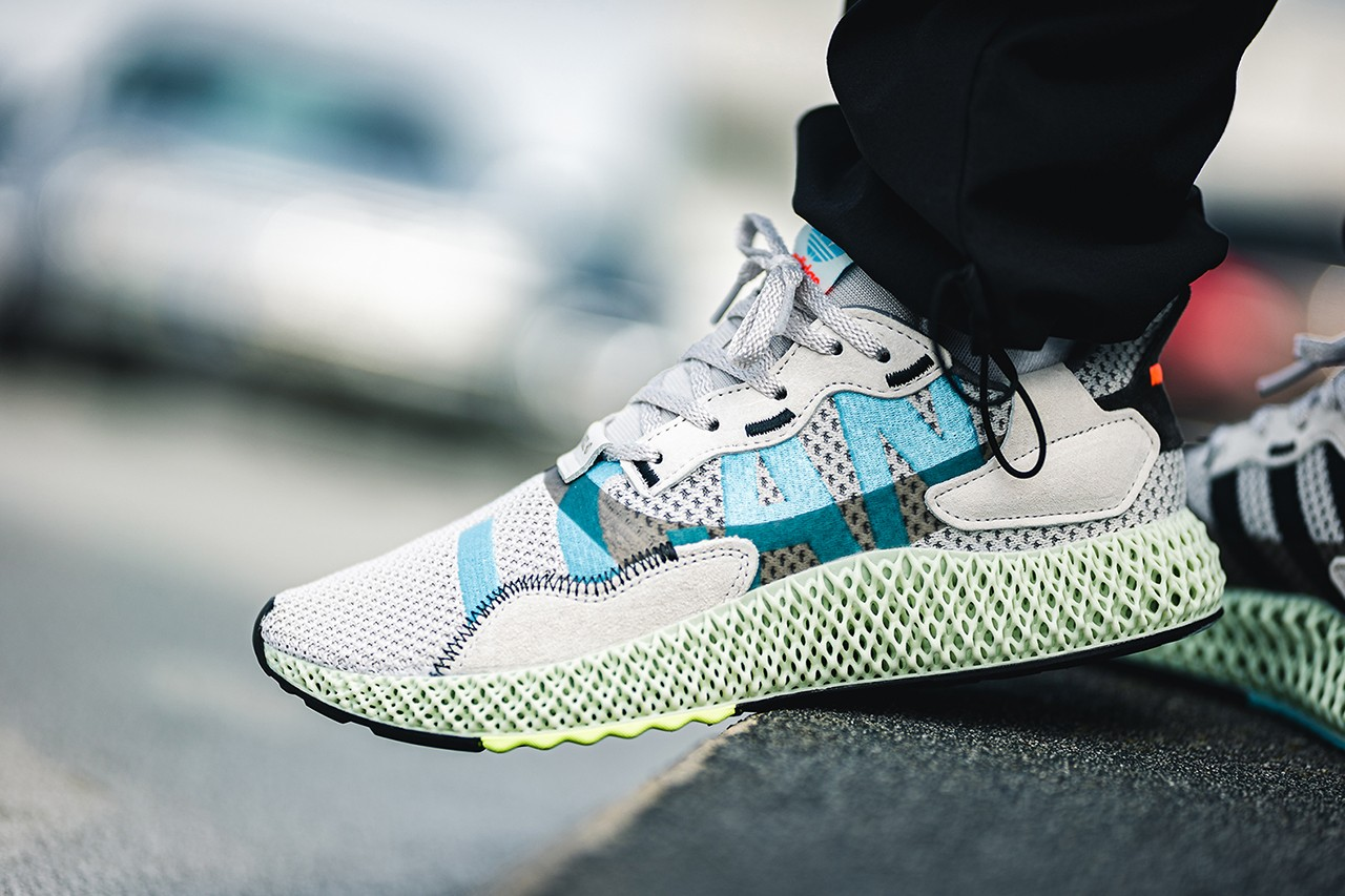 adidas zx 4000 4d i want i can on feet