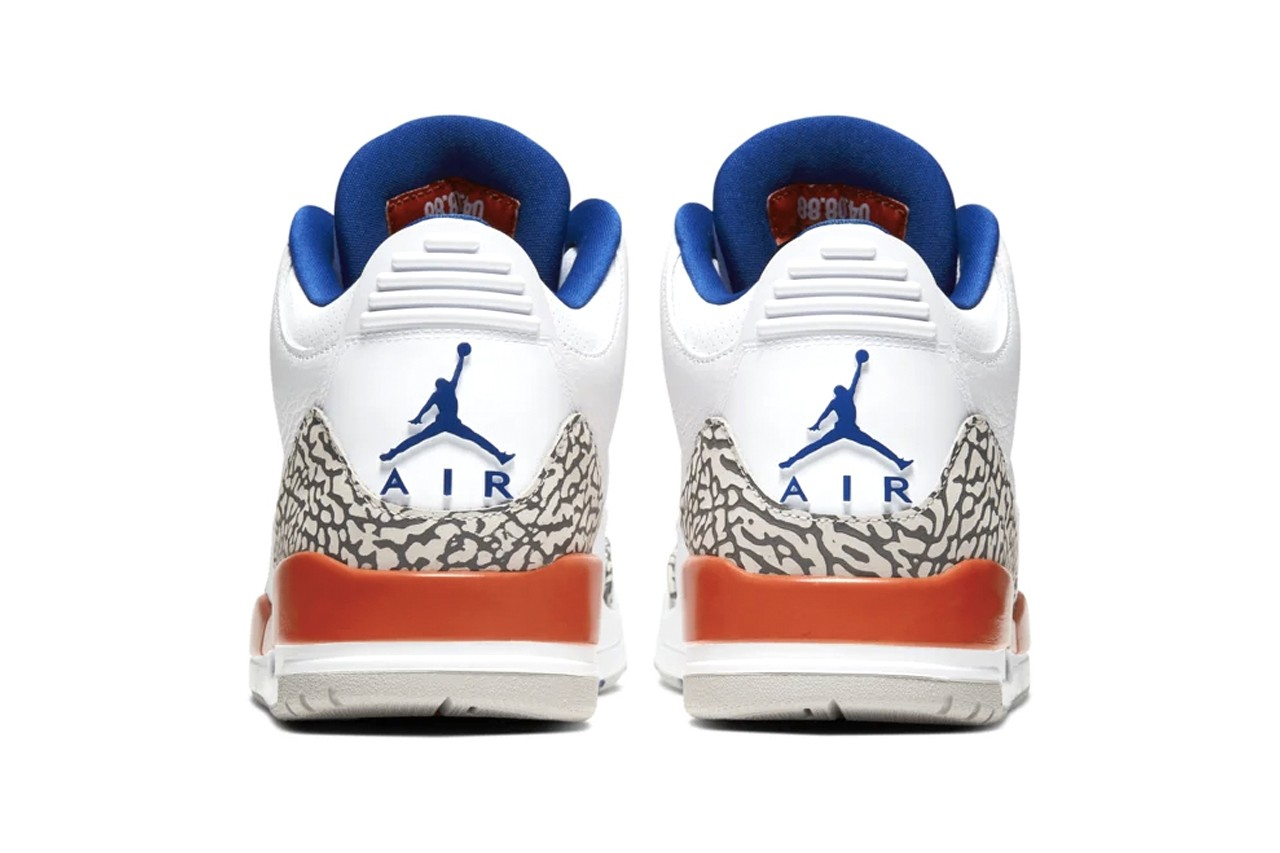"""The Epic 1988 'MJ v. Ewing' Matchup Inspired This Air Jordan 3 """"New York Knicks"""" Colorway"""