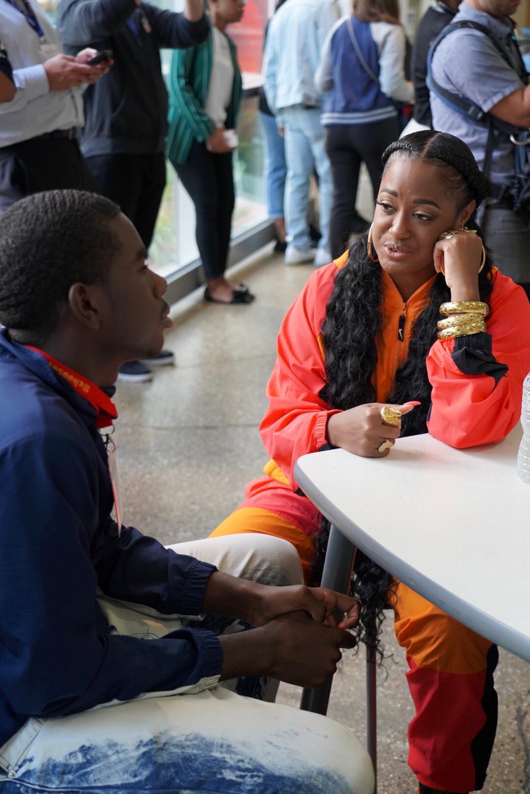 Rapsody, Vic Mensa, NFL Legends Lead Chicago Teen Mentoring Program