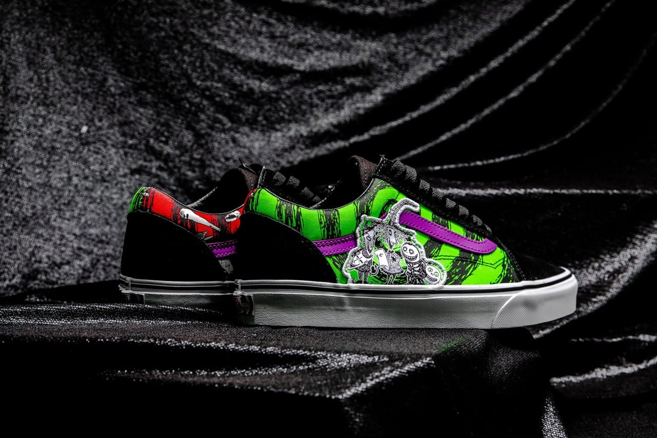 Early Look: Vans x 'The Nightmare Before Christmas' Collection