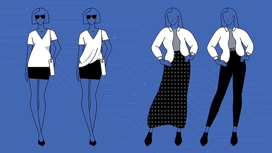 facebook ai system digital stylist