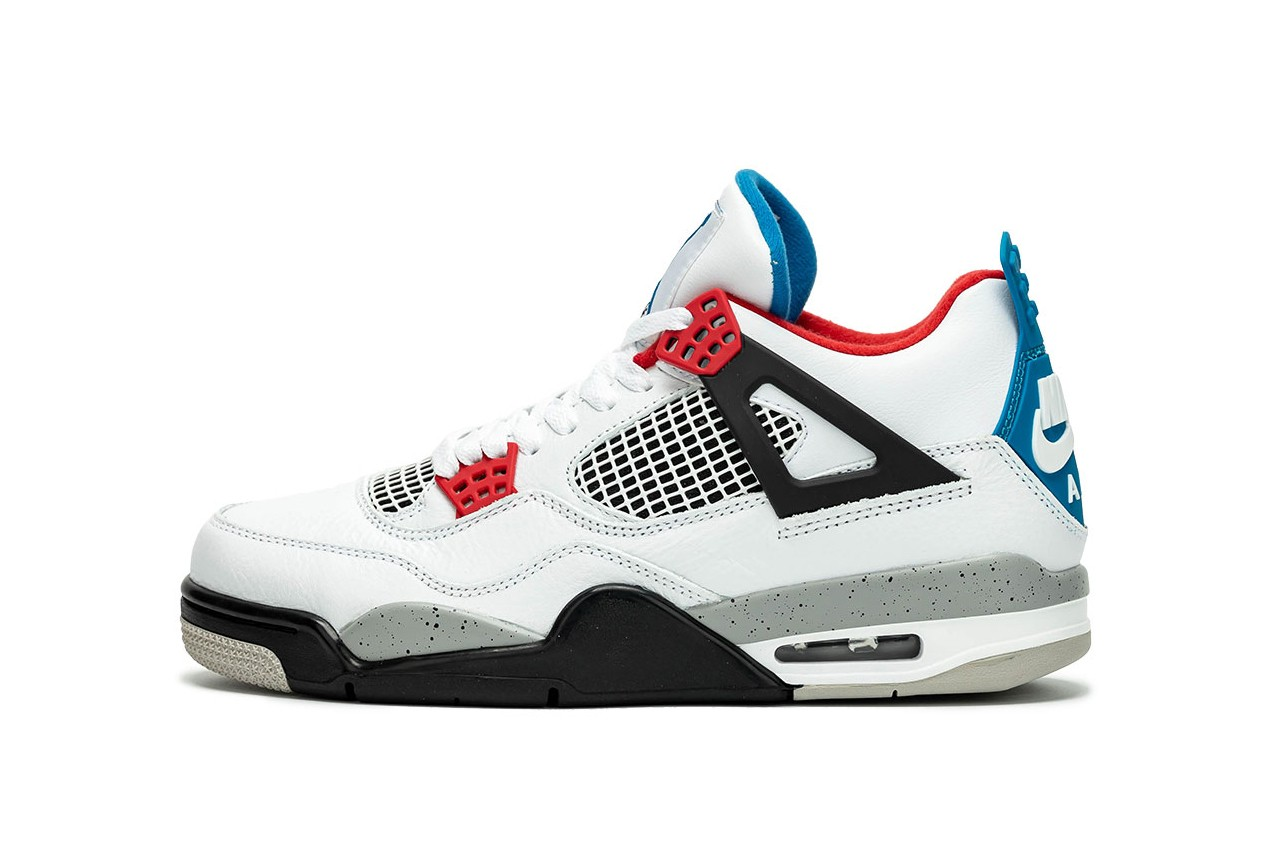 "First Look: Nike Air Jordan 4 ""What The"""