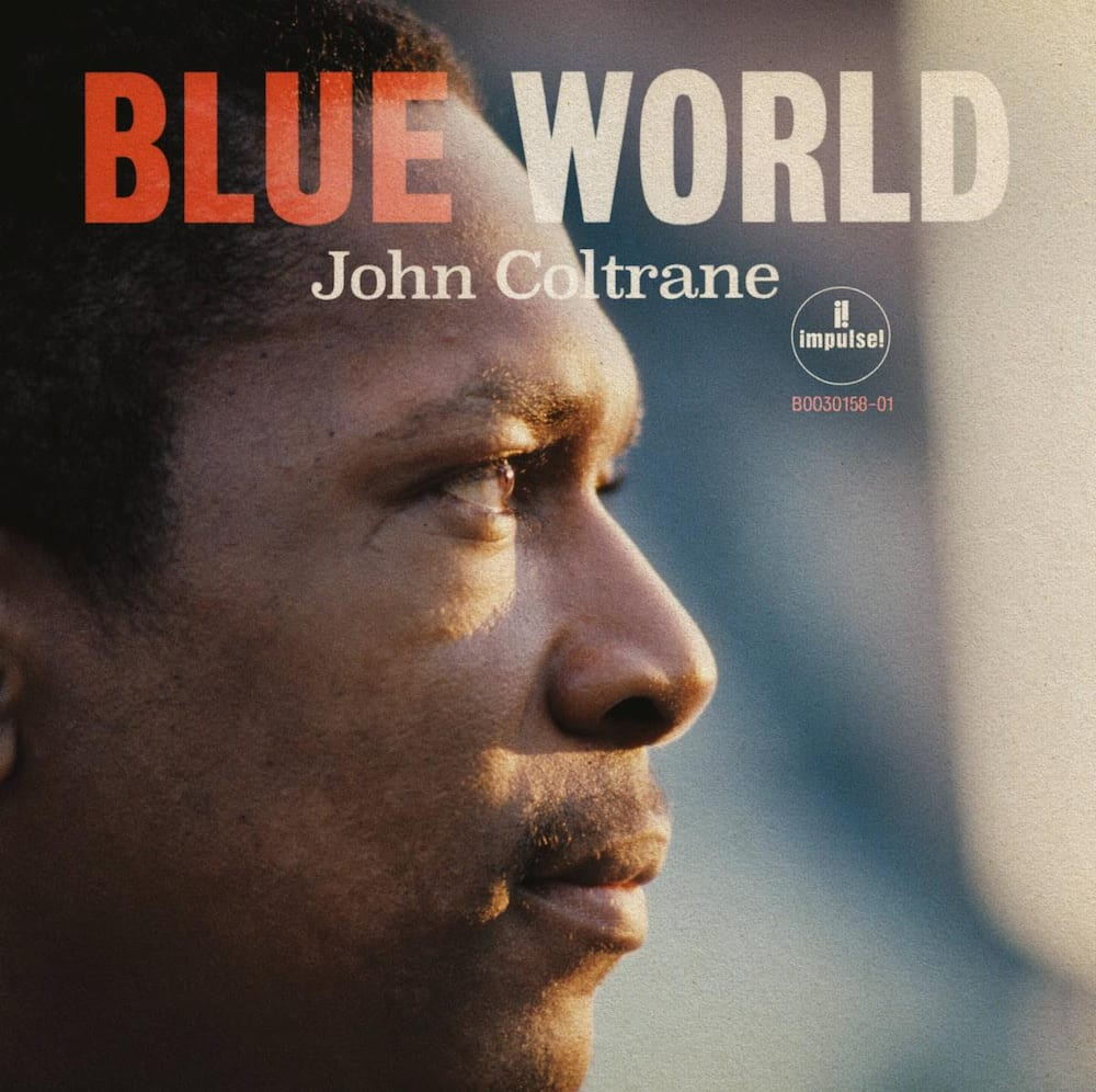 impulse records john coltrane blue world