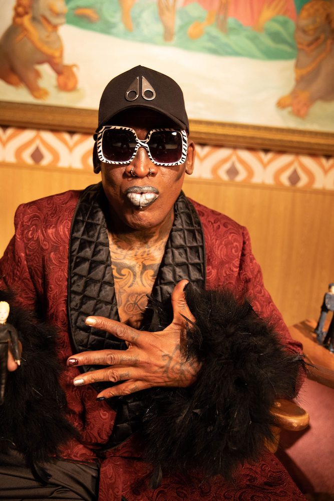 Dennis Rodman is Back in Style as the Face of Moose Knuckles' FW19 Campaign