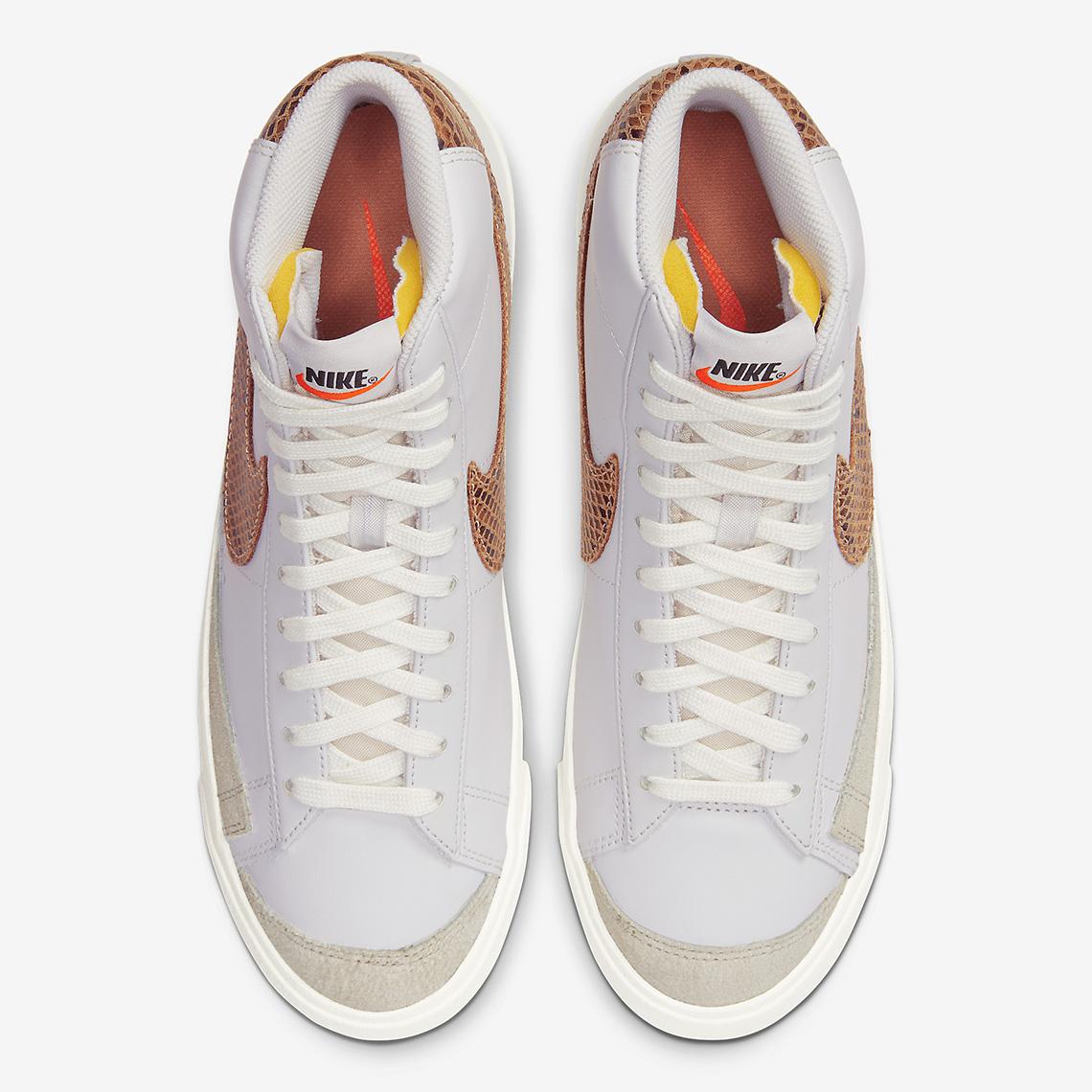 "Nike Brings Back the Snakeskin Steez With Blazer Mid '77 Vintage ""Python"""