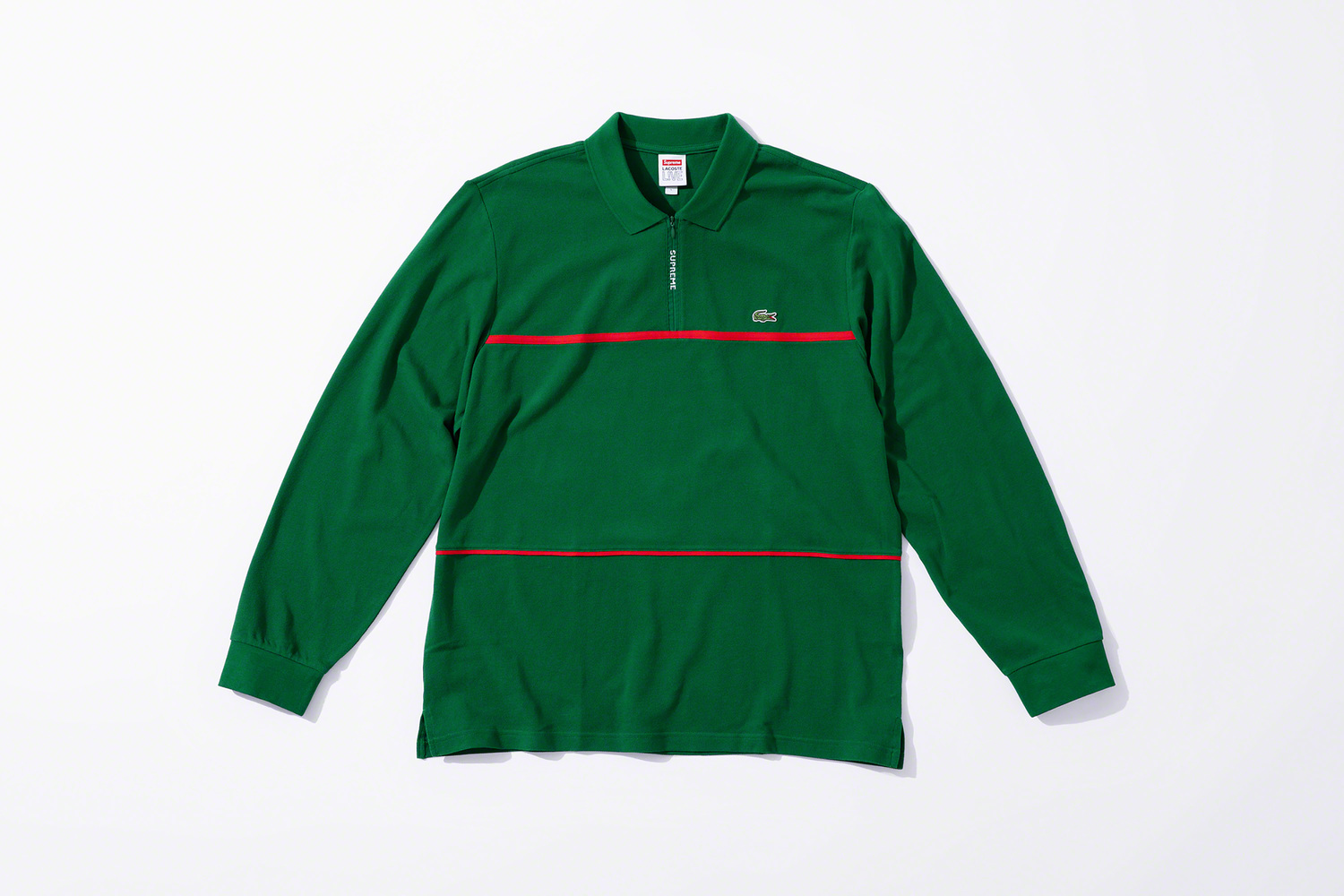 Supreme & LACOSTE Join For a Fire Fall 2019 Collaboration