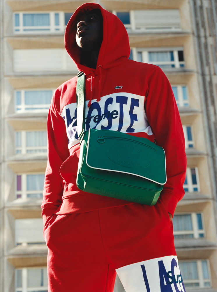 supreme lacoste fall  collection