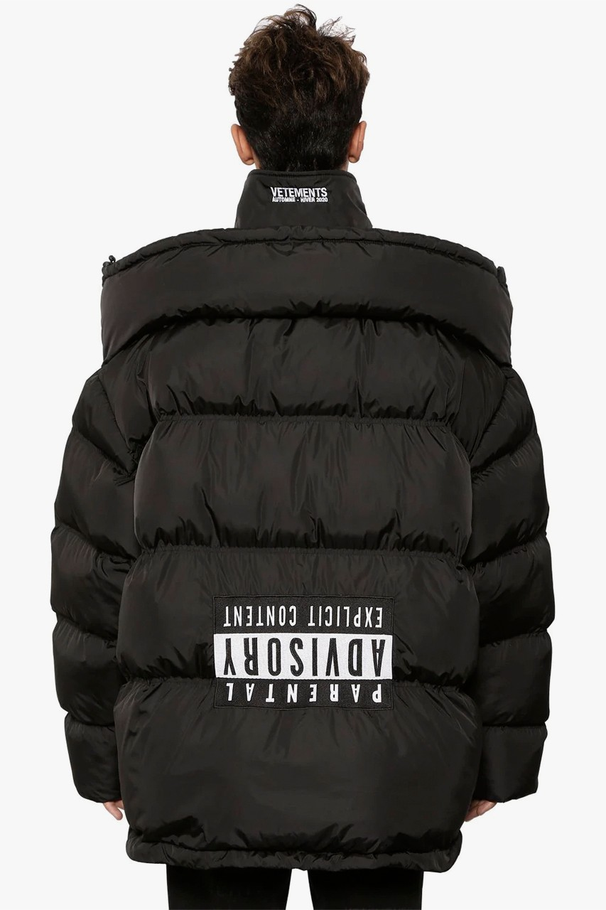 vetements  usd upside down jacket