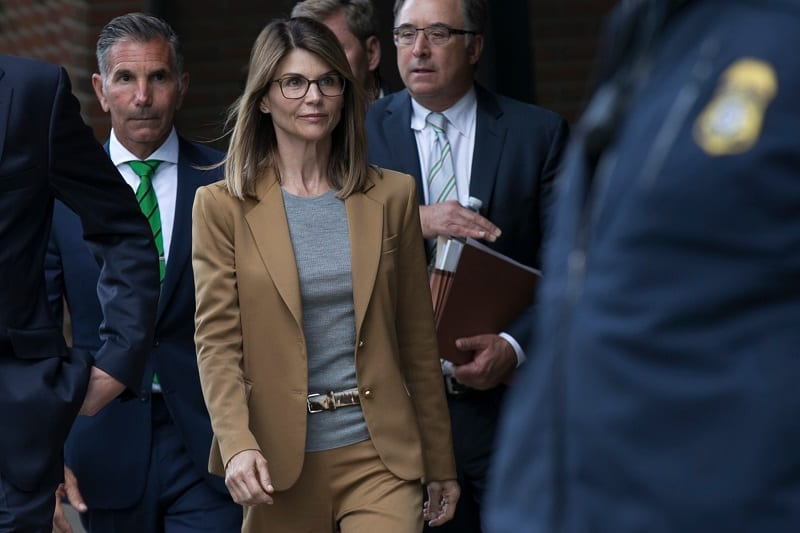 Lori Loughlin Was Sentenced to Two Months in Prison for College Bribe Scandal