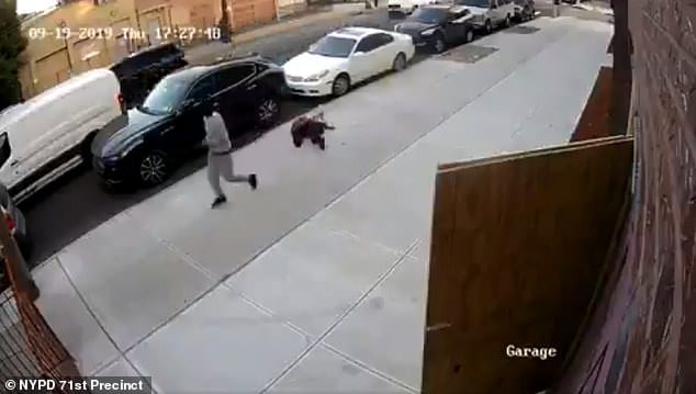 Surveillance Video Shows Disturbing Moment Man Punched 71-Year-Old Woman, Leaving her Jaw Broken