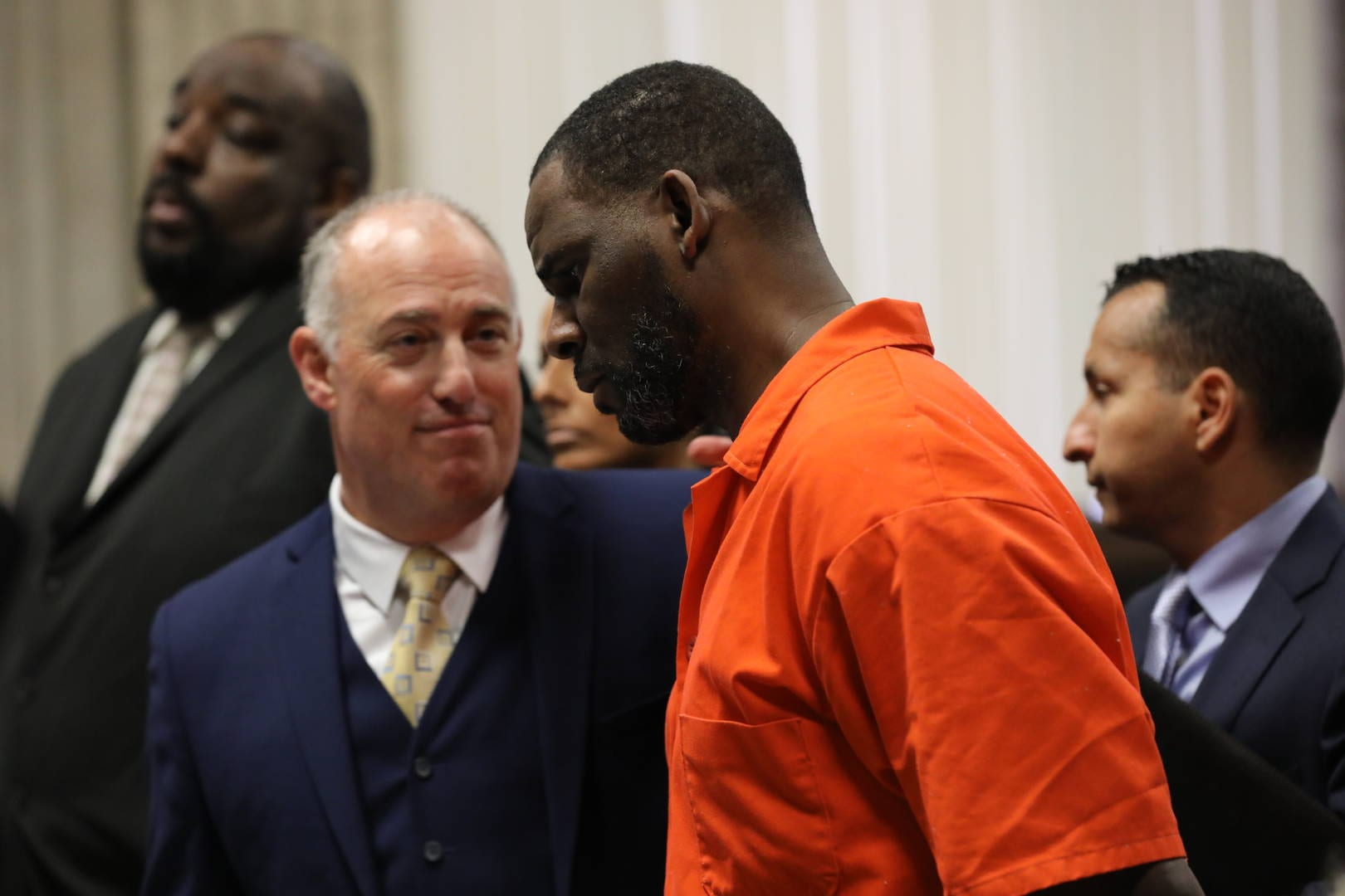 Texas Inmate Writes Handwritten Letter to Judge Warning 'Jail Staff' is Targeting R. Kelly