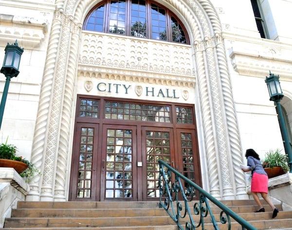 city hall credit iris dimmick