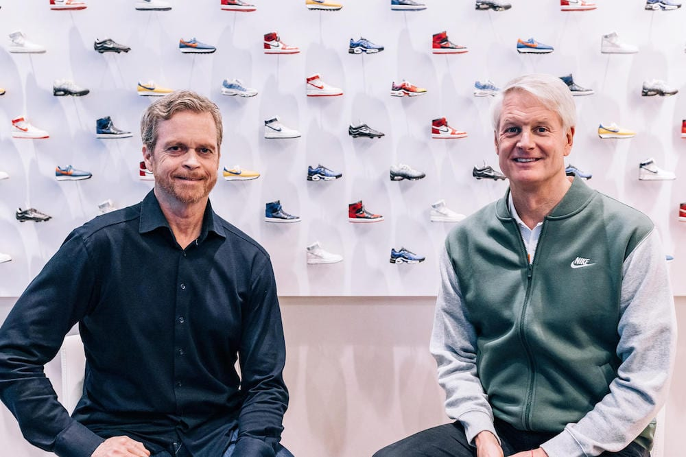 mark parker steps down as nike ceo succeeded by john donahoe