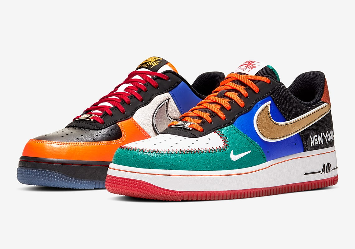 Big Apple Ballin': Nike Air Force 1 Low