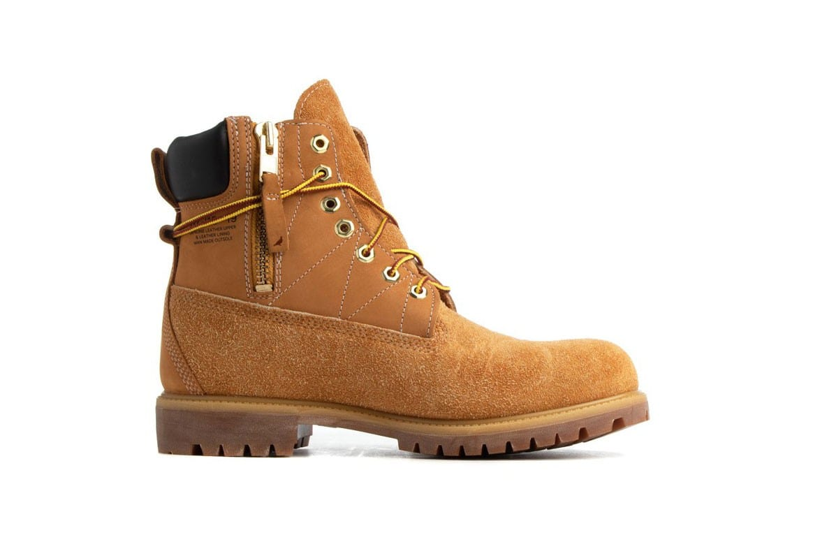 staple timberland  inch boot side zip