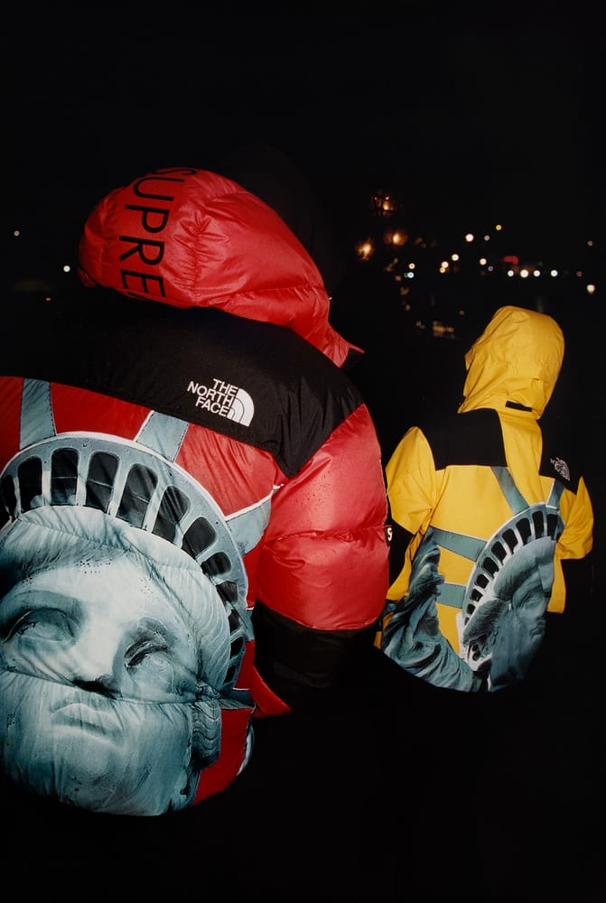 Supreme The North Face Prep Lady Liberty Inspired Fall
