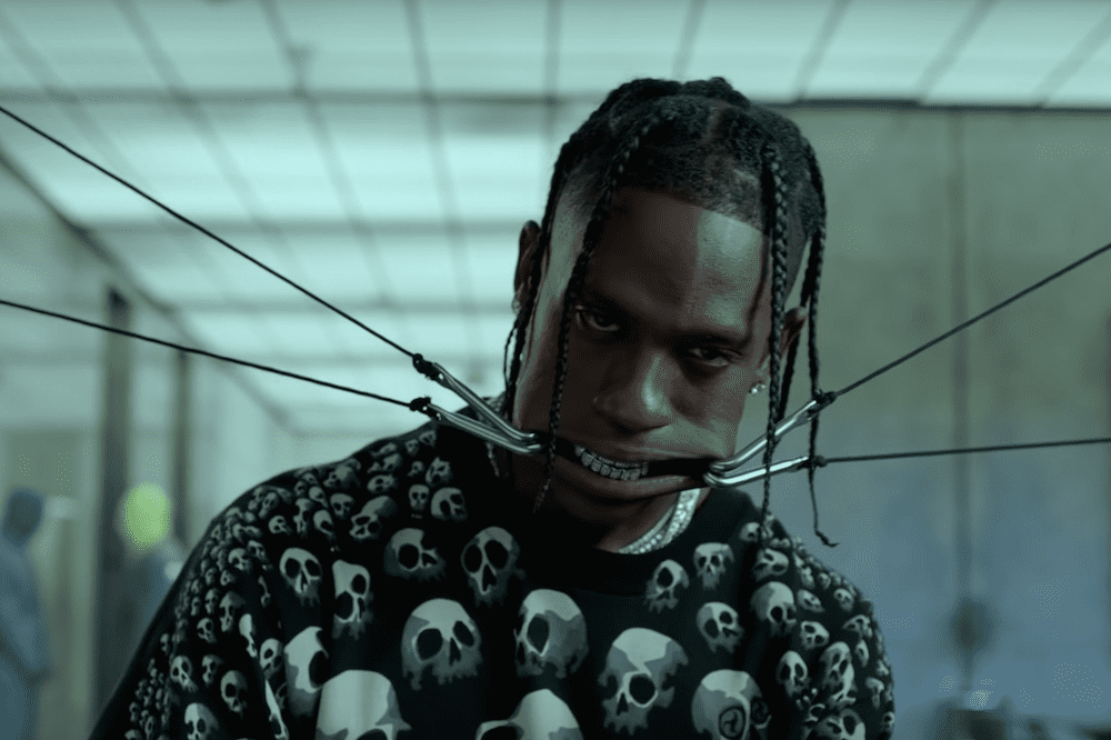 travis scott highest in the room music video