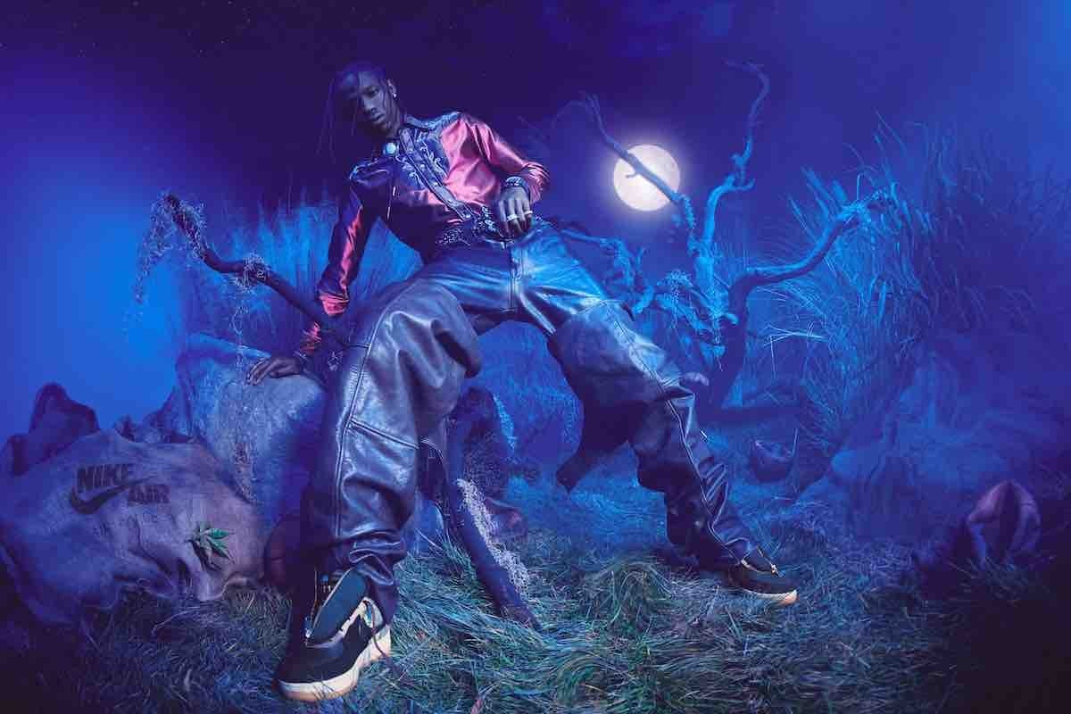 Travis Scott Unveils His Next Nike Air Force 1 Collab & Art Workshop With a Halloween-Themed Lookbook