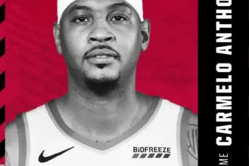 SOURCE SPORTS: Portland Trail Blazers Officially Announce Carmelo Anthony Signing