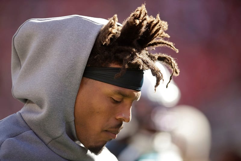 SOURCE SPORTS: Cam Newton Cut From Patriots