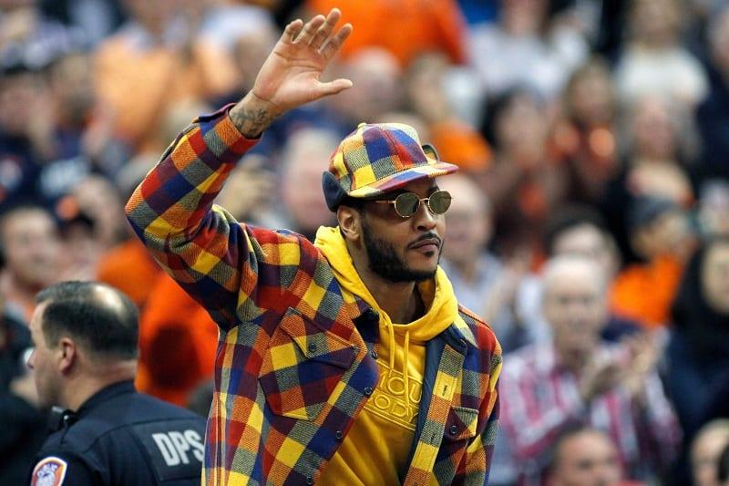 SOURCE SPORTS: Carmelo Anthony Resigns With Portland TrailBlazers
