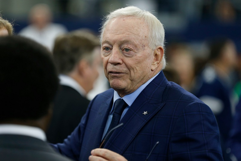 """Jerry Jones is ready to do """"anything"""" to get back to the Super Bowl"""