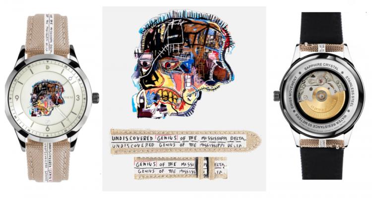 DAEM jean michel basquiat watch collaboration happy birthday