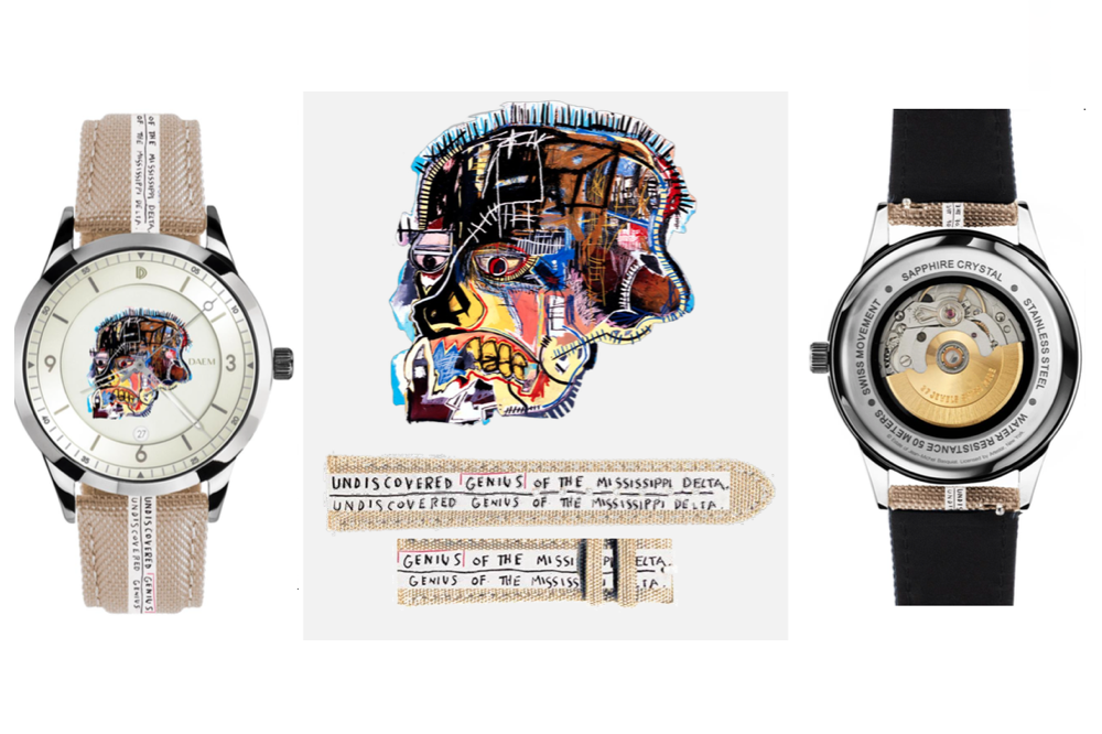 Happy 59th! Basquiat's Legacy Lives On With This Watch Collab by DAEM