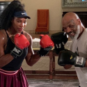 [WATCH] Mike Tyson and Serena Williams' Boxing Session