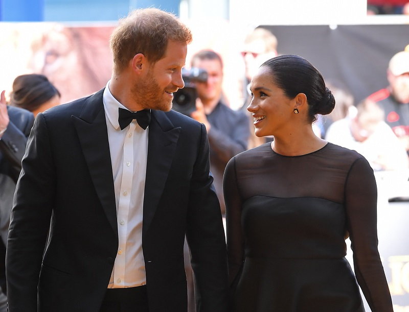Video of Prince Harry Chatting Up Disney CEO Bob Iger For His Wife, Meghan Markle Resurfaces