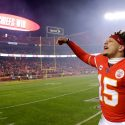 Patrick Mahomes Gets Engaged to Longtime GF Following Super Bowl Ring Ceremony